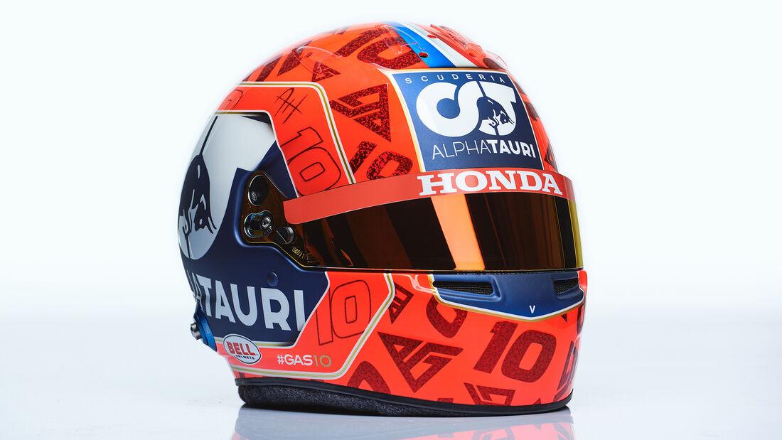 Pierre Gasly - Formel 1 - Helm - 2021