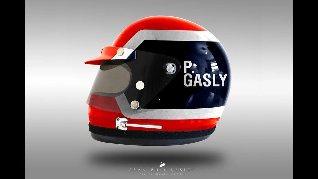 Pierre Gasly - Formel 1 - Retro-Helme - Sean Bull - 2018