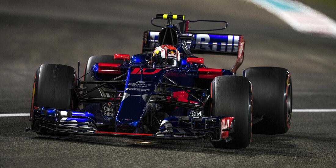 Pierre Gasly - GP Abu Dhabi 2017