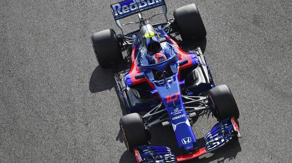 Pierre Gasly - GP Abu Dhabi 2018