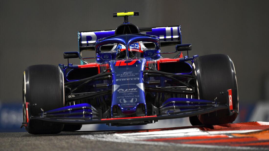 Pierre Gasly - GP Abu Dhabi 2019