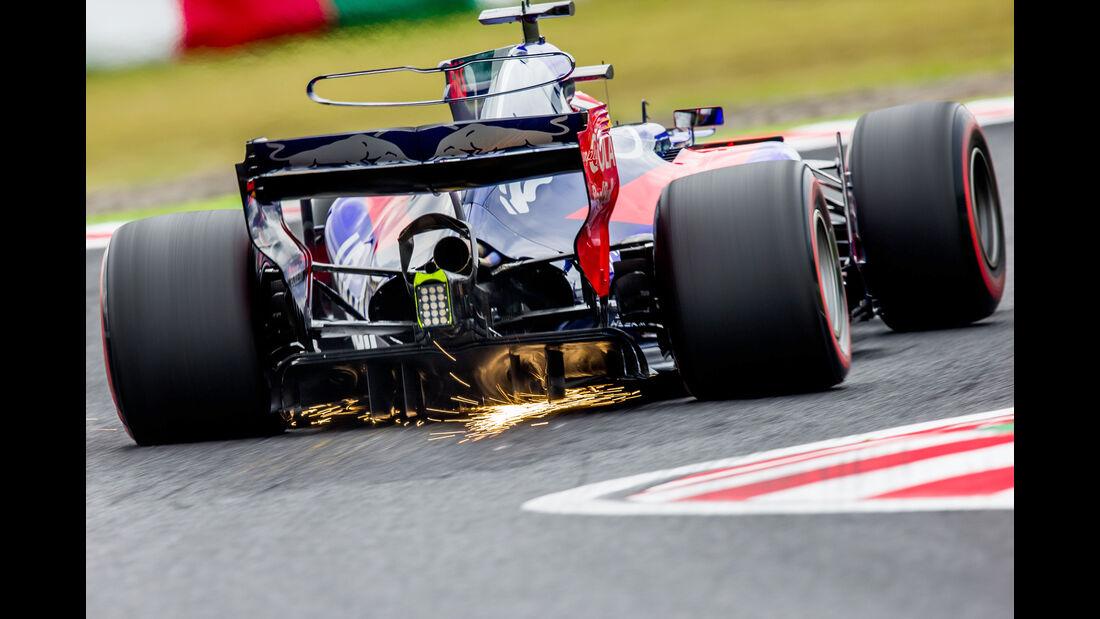 Pierre Gasly - GP Japan 2017