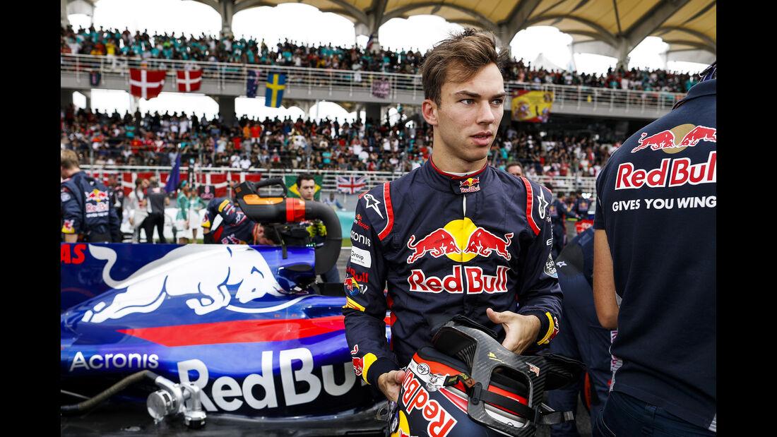 Pierre Gasly - GP Malaysia 2017