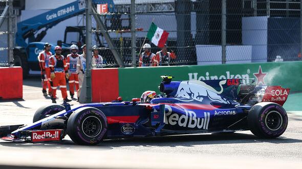 Pierre Gasly - GP Mexiko 2017