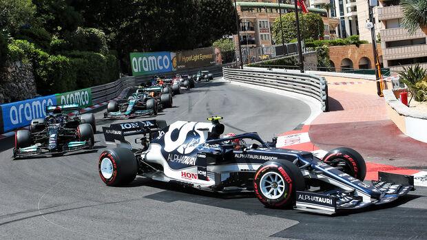 Pierre Gasly - GP Monaco 2021