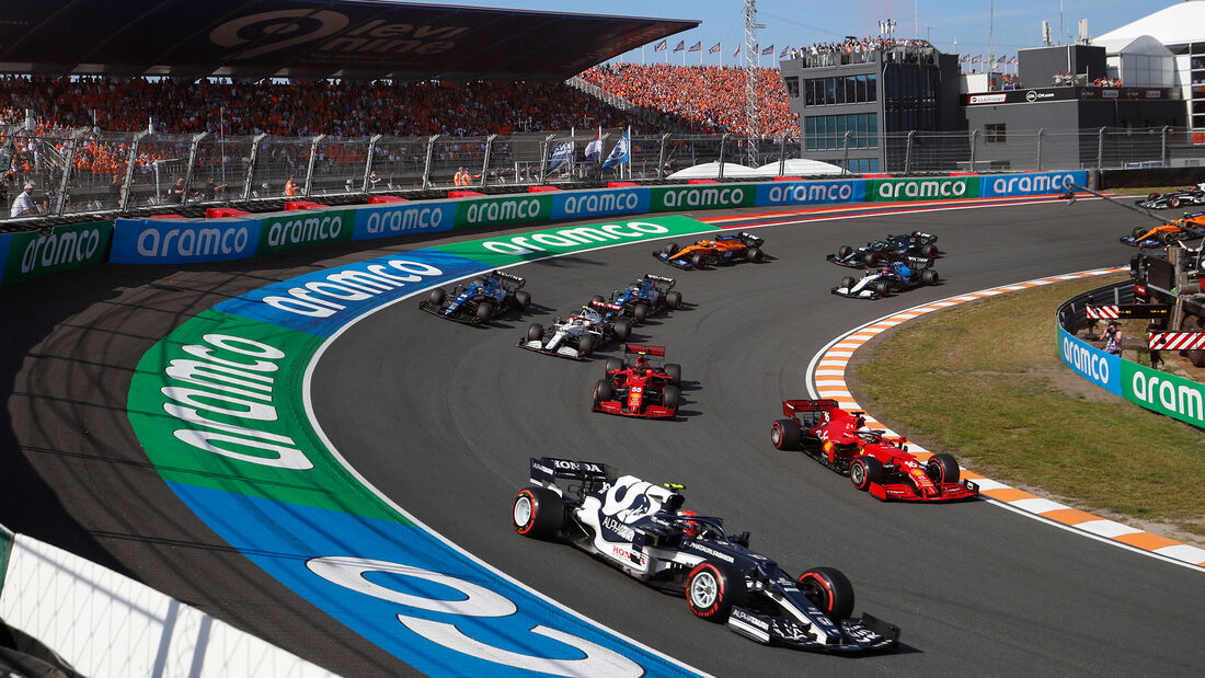 Pierre Gasly - GP Niederlande - Formel 1 - 5. September 2021