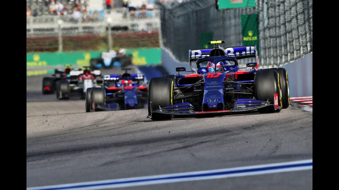 Pierre Gasly - GP Russland 2019