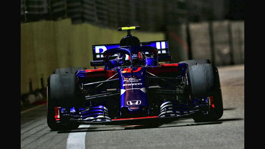 Pierre Gasly - GP Singapur 2018