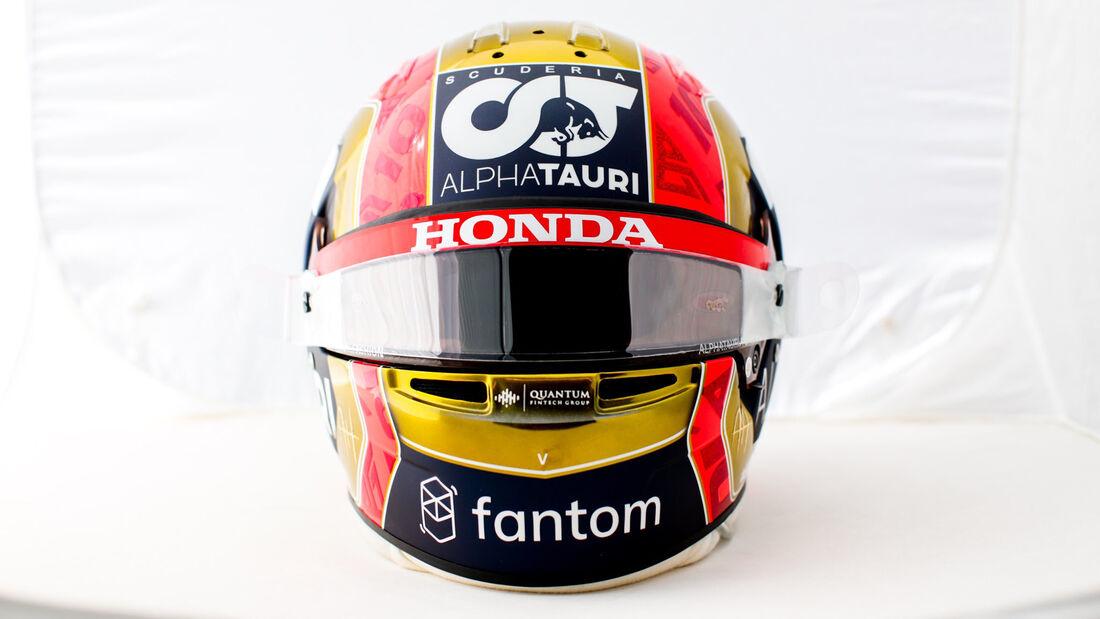 Pierre Gasly - Helm-Design - GP Monaco 2021
