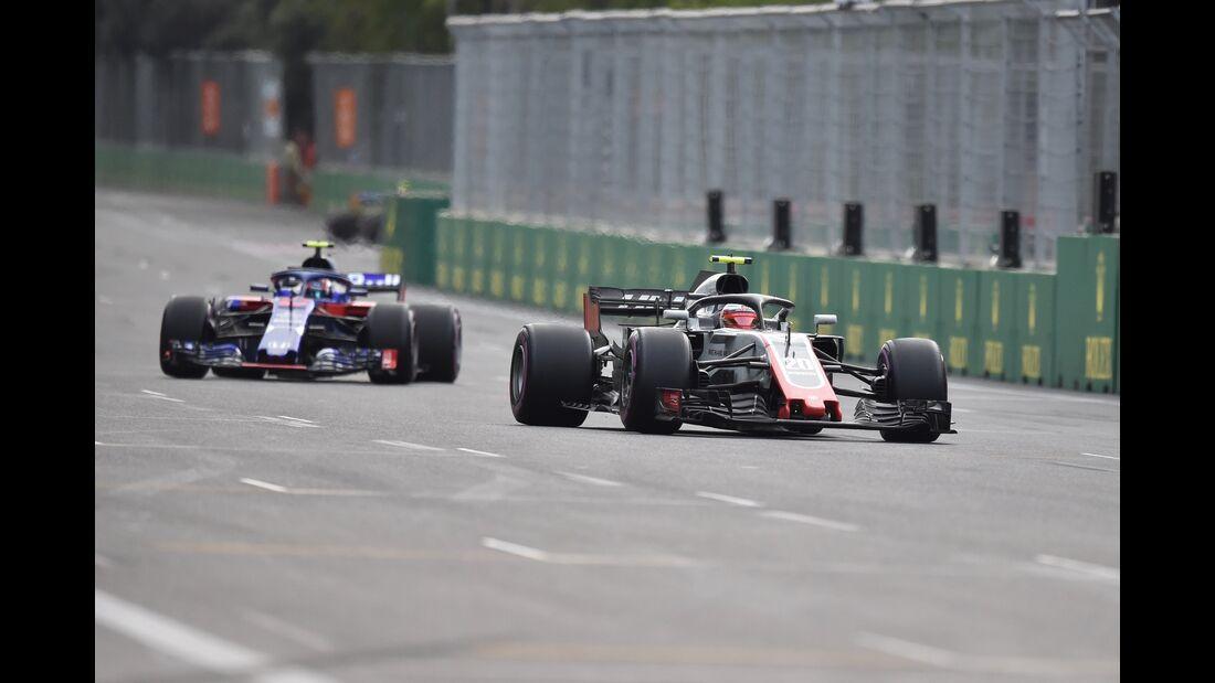 Pierre Gasly - Kevin Magnussen - Formel 1 - GP Aserbaidschan - 29. April 2018