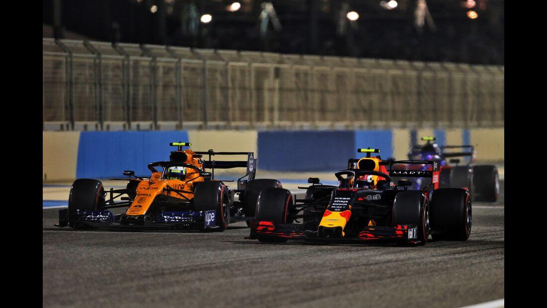 Pierre Gasly - Lando Norris - Formel 1 - GP Bahrain - 31. März 2019