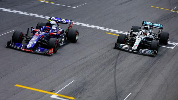 Pierre Gasly & Lewis Hamilton - GP Brasilien 2019