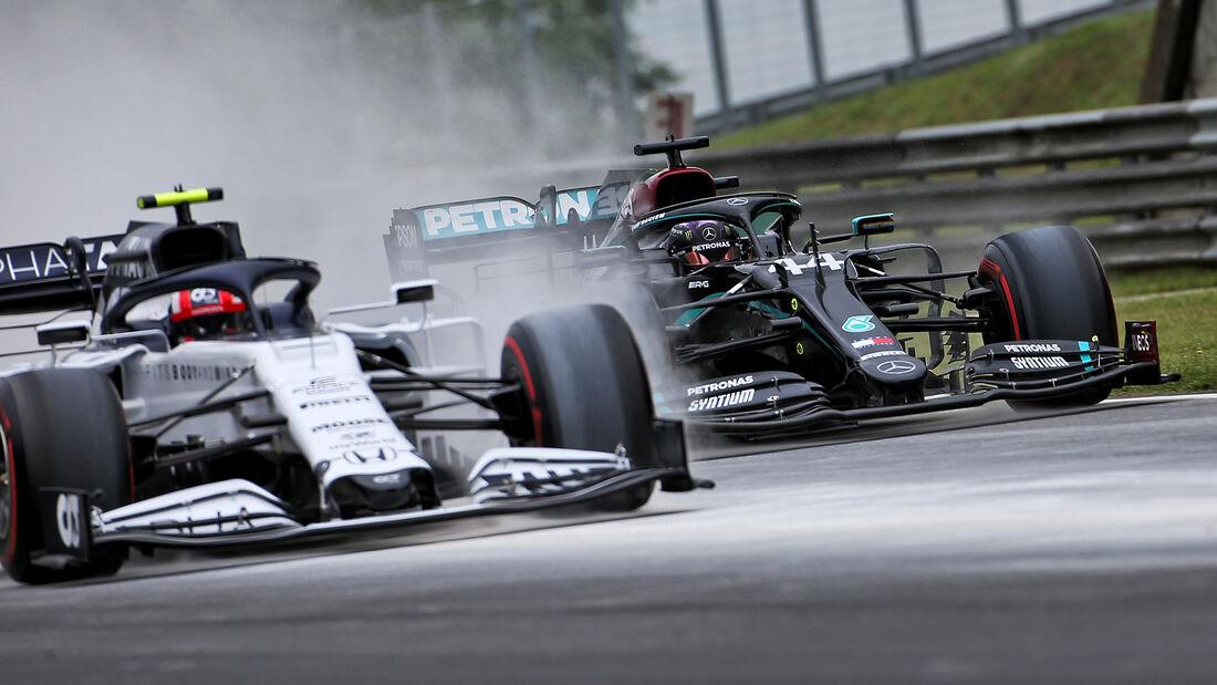 Pierre Gasly - Lewis Hamilton - GP Ungarn 2020 - Budapest