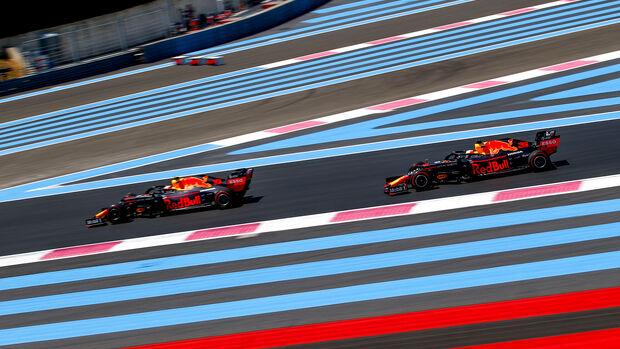 Pierre Gasly & Max Verstappen - Red Bull - Formel 1 - GP Frankreich - 21. Juni 2019