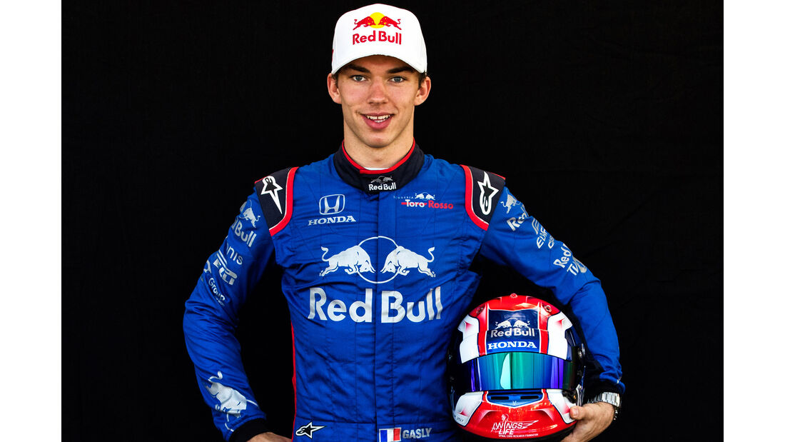 Pierre Gasly - Porträt - Formel 1 - 2018