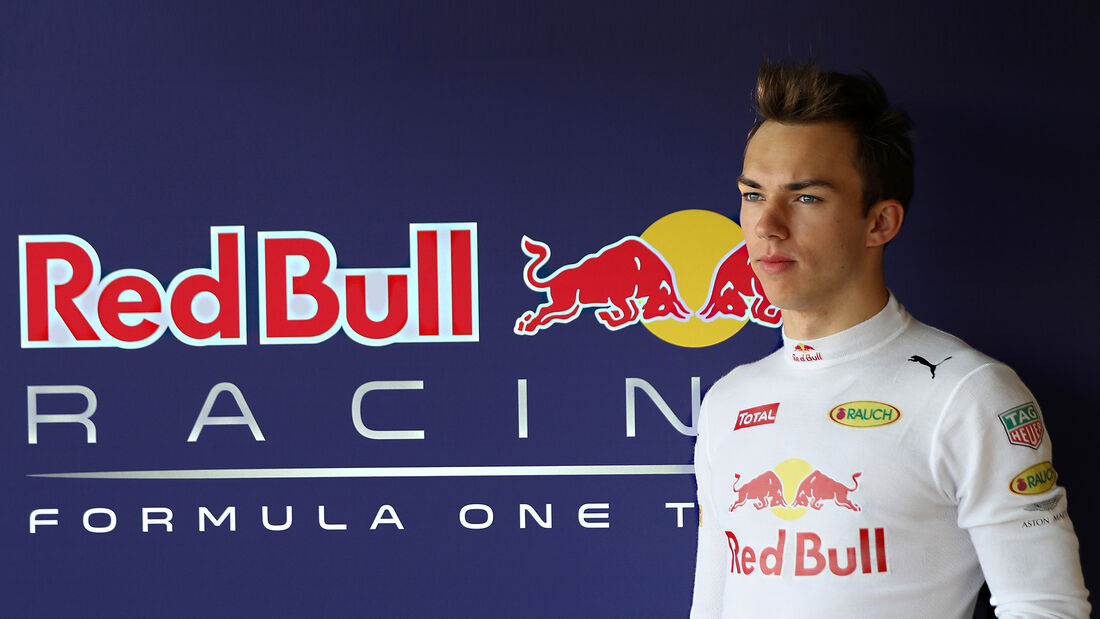 Pierre Gasly - Red Bull - 2016