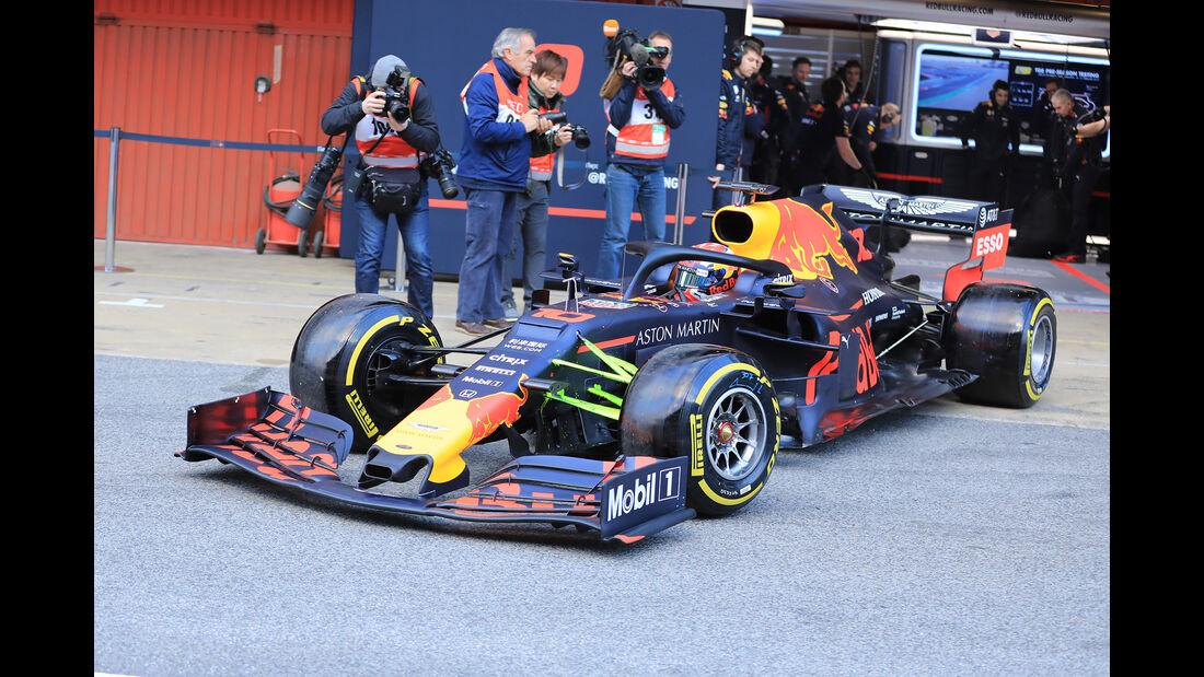 Pierre Gasly - Red Bull - Barcelona - F1-Test - 19. Februar 2019