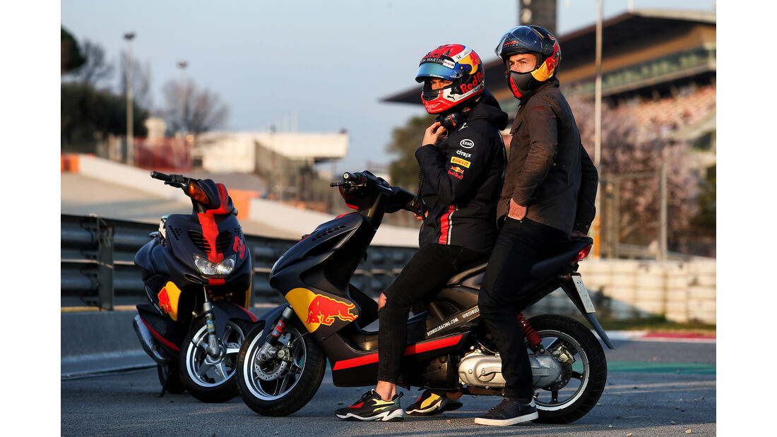 Pierre Gasly - Red Bull - Barcelona - F1-Test - 20. Februar 2019
