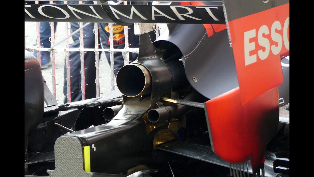Pierre Gasly - Red Bull - Barcelona - F1-Test - 21. Februar 2019