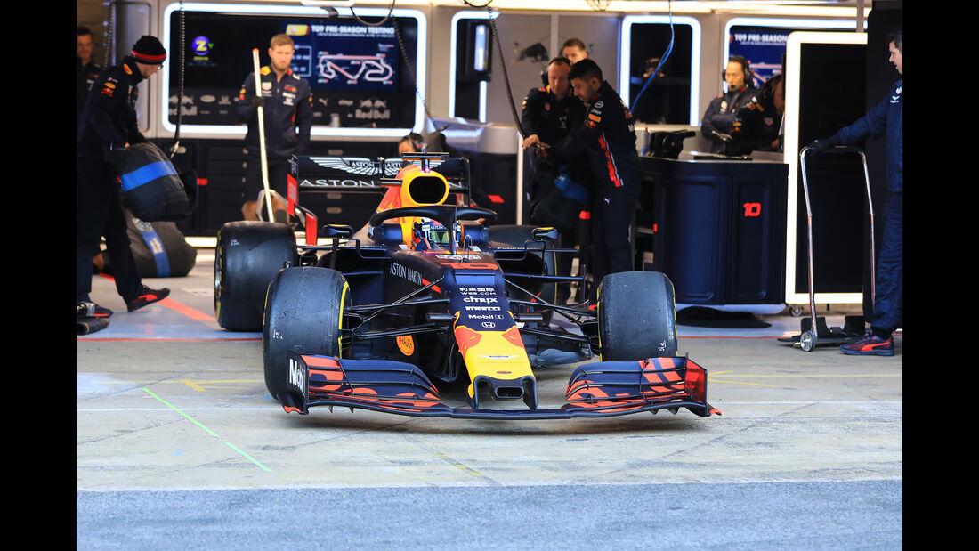 Pierre Gasly - Red Bull - Barcelona - F1-Test - 26. Februar 2019