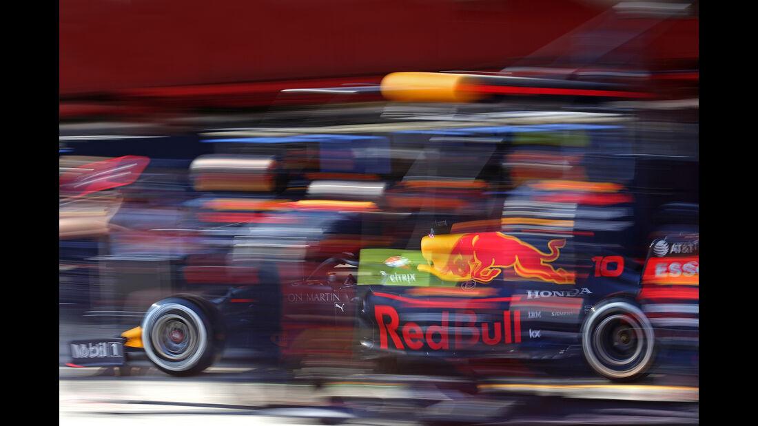 Pierre Gasly - Red Bull - Barcelona - F1-Test - 28. Februar 2019