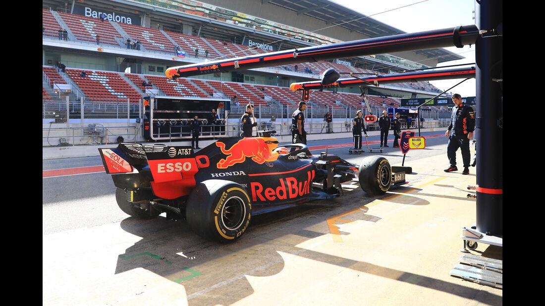 Pierre Gasly - Red Bull - F1-Test - 26. Februar 2019