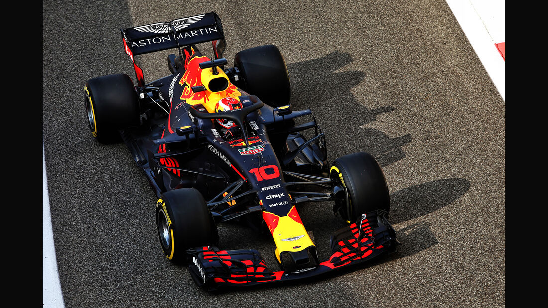 Pierre Gasly - Red Bull - F1-Test - Abu Dhabi - 28. November 2018