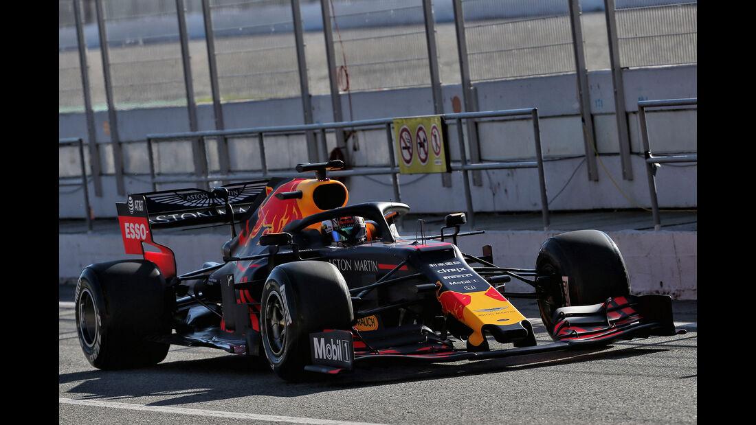 Pierre Gasly - Red Bull - F1-Test - Barcelona  - 14. Mai 2019