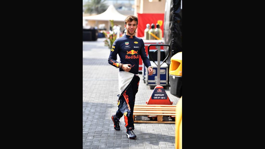 Pierre Gasly - Red Bull - F1-Testfahrten - Abu Dhabi - 27.11.2018