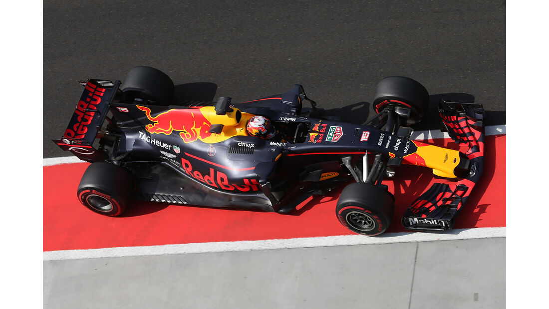 Pierre Gasly - Red Bull - Formel 1 - Budapest - Test - 2. August 2017