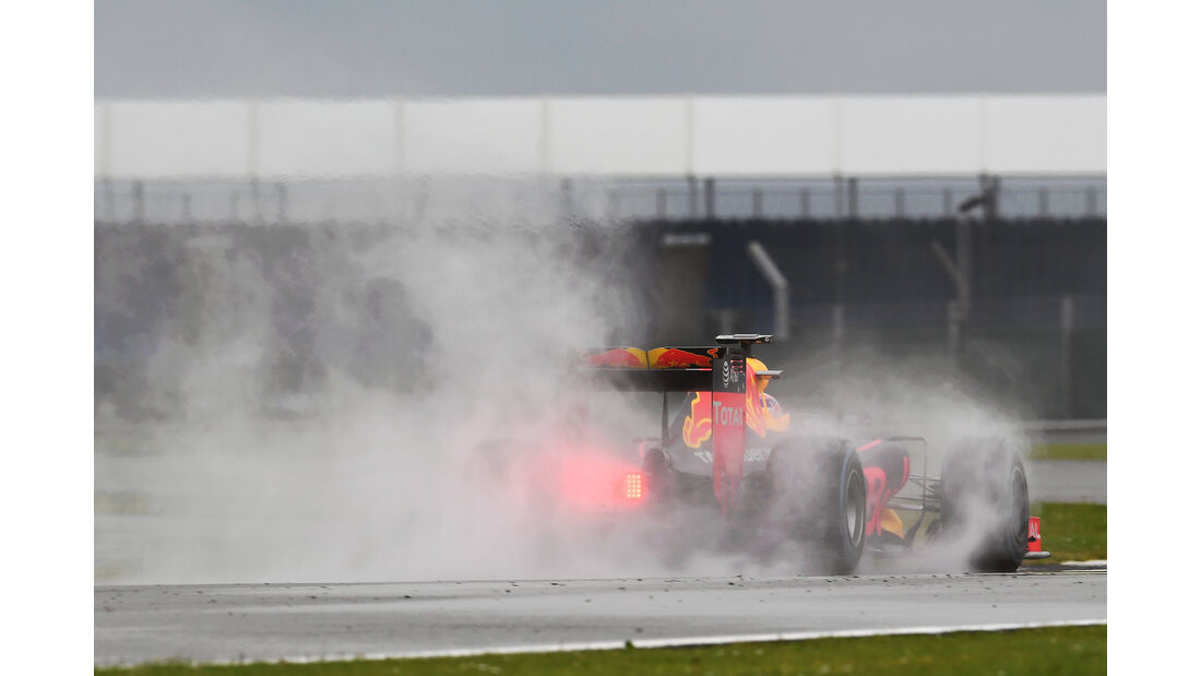 Pierre Gasly - Red Bull - Formel 1 - Silverstone-Test - 12. Juli 2016
