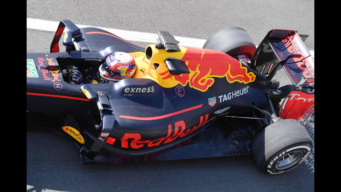 Pierre Gasly - Red Bull - Formel 1 - Silverstone-Test - 13. Juli 2016
