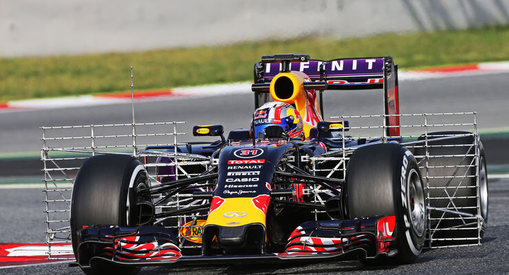 Pierre Gasly - Red Bull - Formel 1-Test - Barcelona - 13. Mai 2015