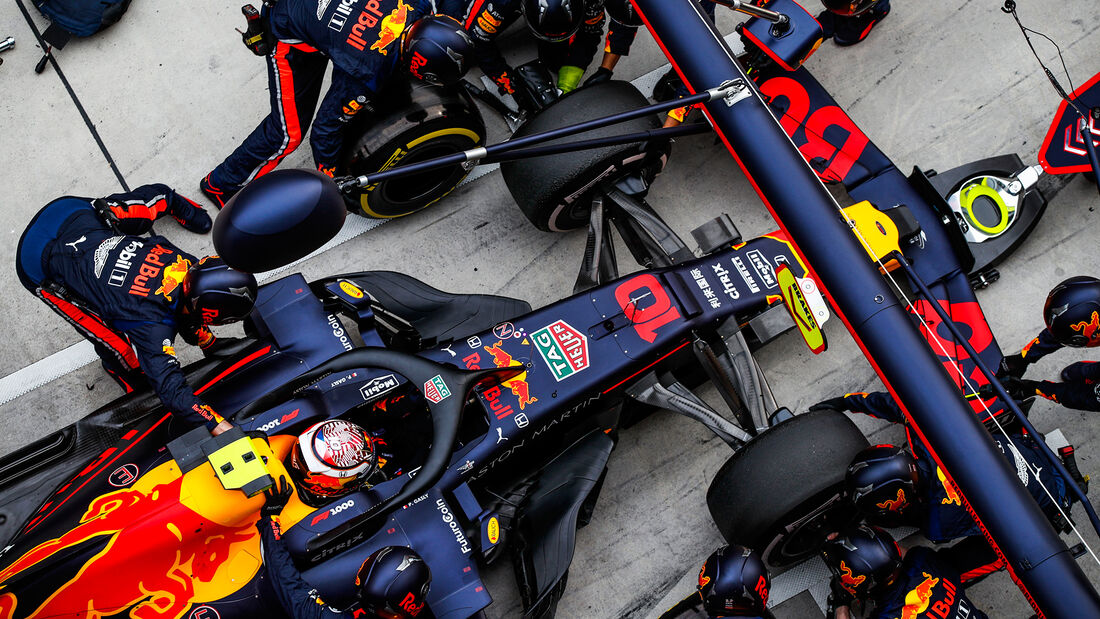 Pierre Gasly - Red Bull - GP China 2019