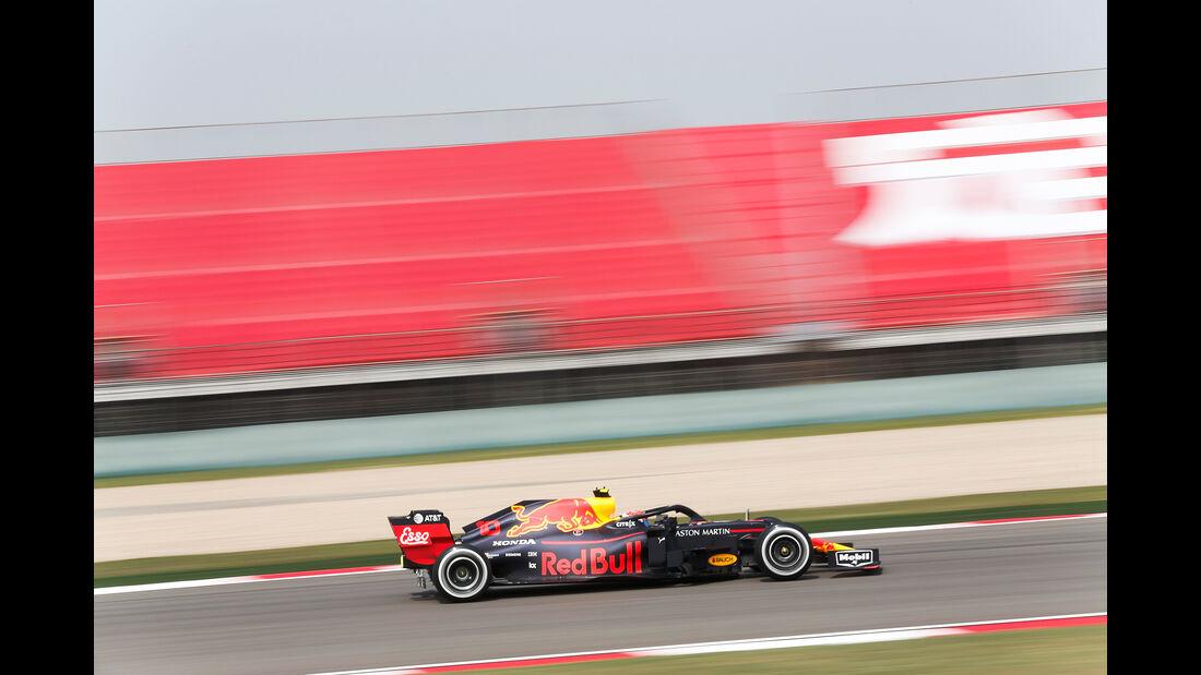 Pierre Gasly - Red Bull - GP China - Shanghai - Formel 1 - Freitag - 12.4.2019