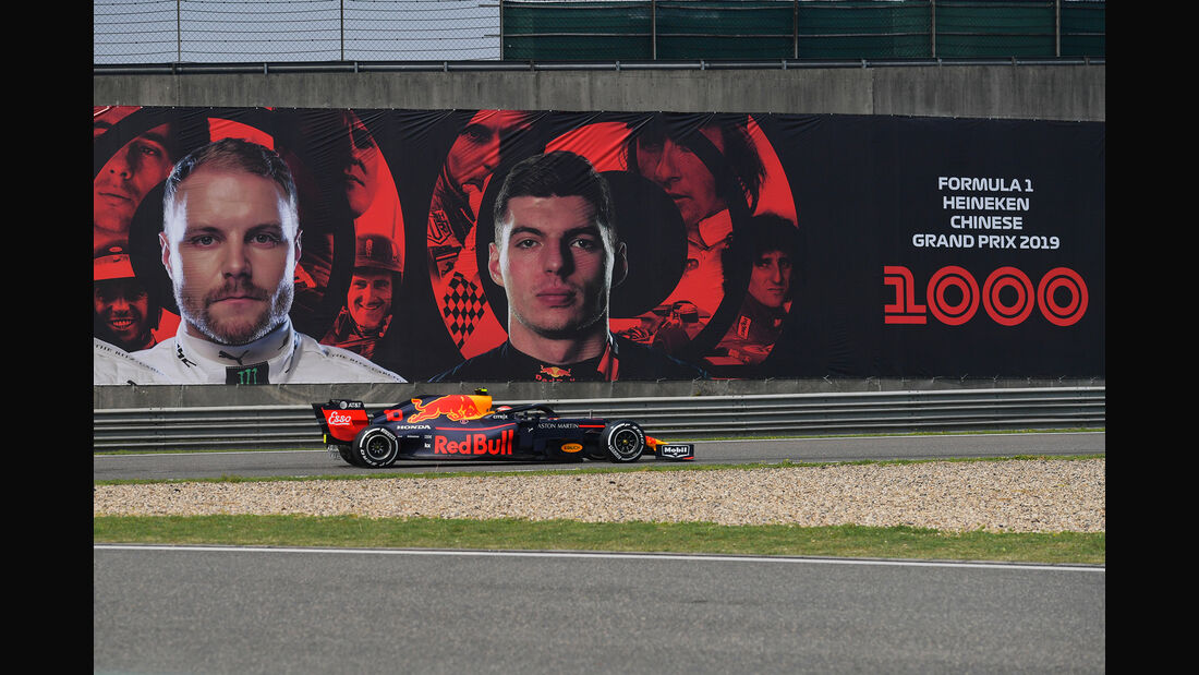 Pierre Gasly - Red Bull - GP China - Shanghai - Formel 1 - Freitag - 12.4.2019