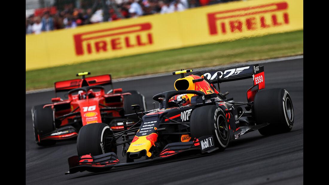 Pierre Gasly - Red Bull - GP England 2019 - Silverstone - Rennen