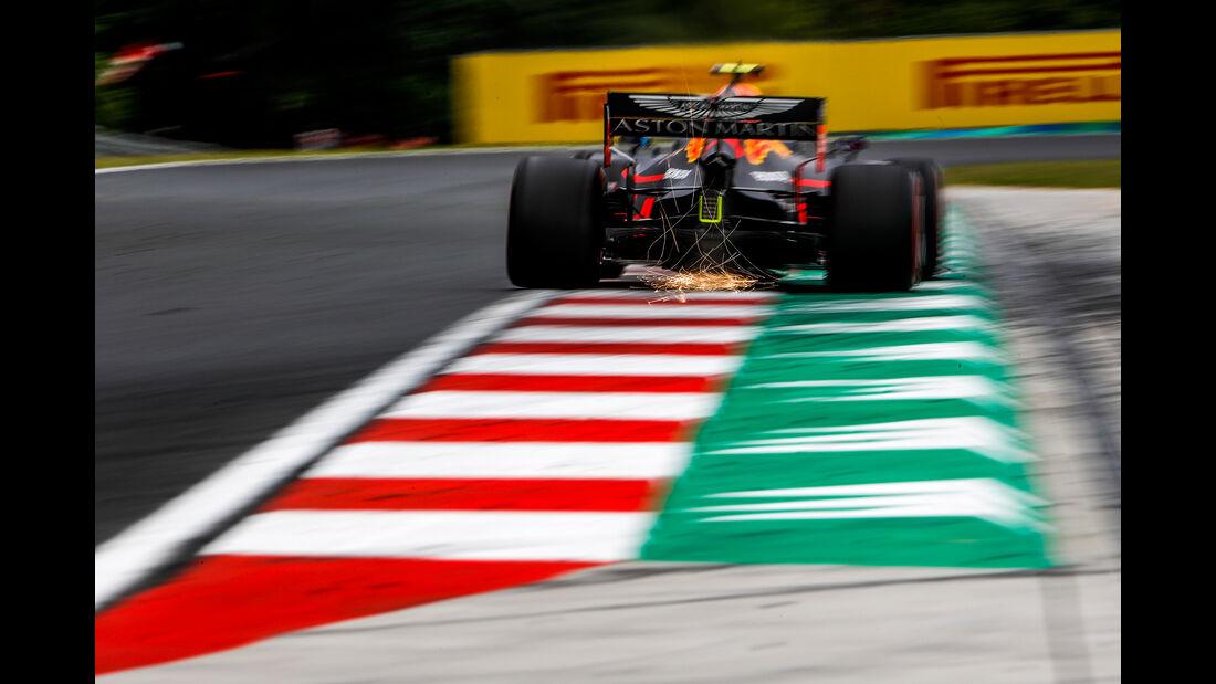 Pierre Gasly - Red Bull - GP Ungarn - Budapest - Formel 1 - Freitag - 1.8.2019