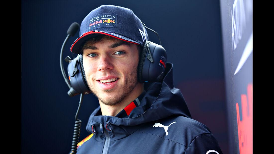 Pierre Gasly - Red Bull - Shakedown - Silverstone - Formel 1 - 2019