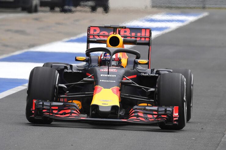 Pierre Gasly - Red Bull - Silverstone-Test - 12- Juli 2016