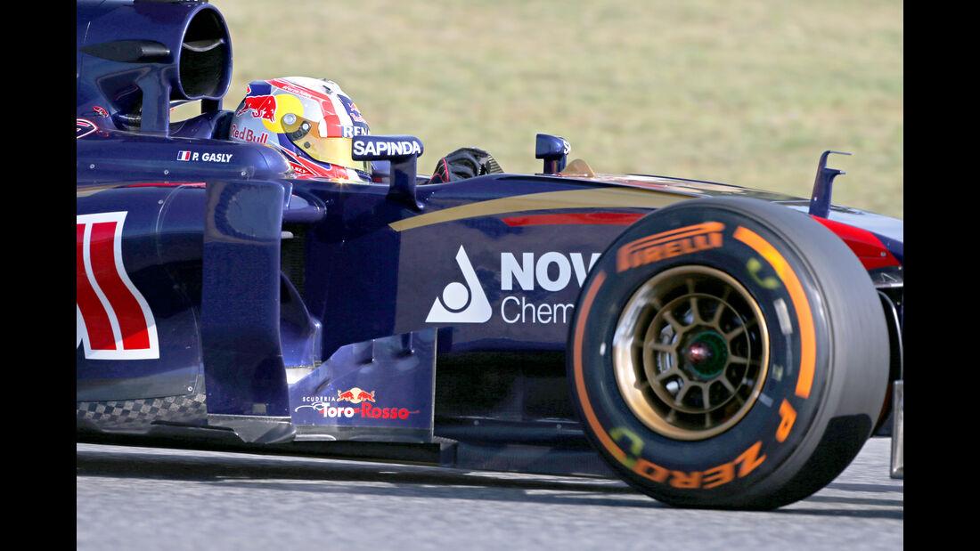 Pierre Gasly - Toro Rosso - Barcelona-Test - 12. Mai 2015
