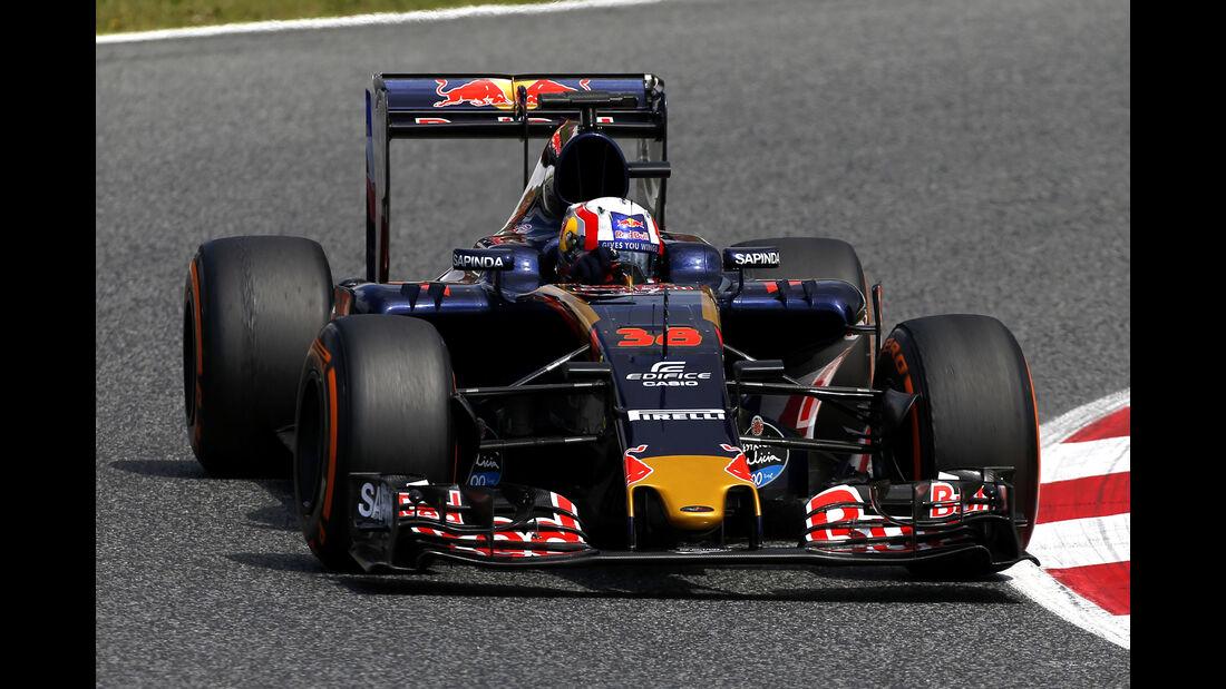 Pierre Gasly - Toro Rosso - Barcelona-Test - 17. Mai 2016