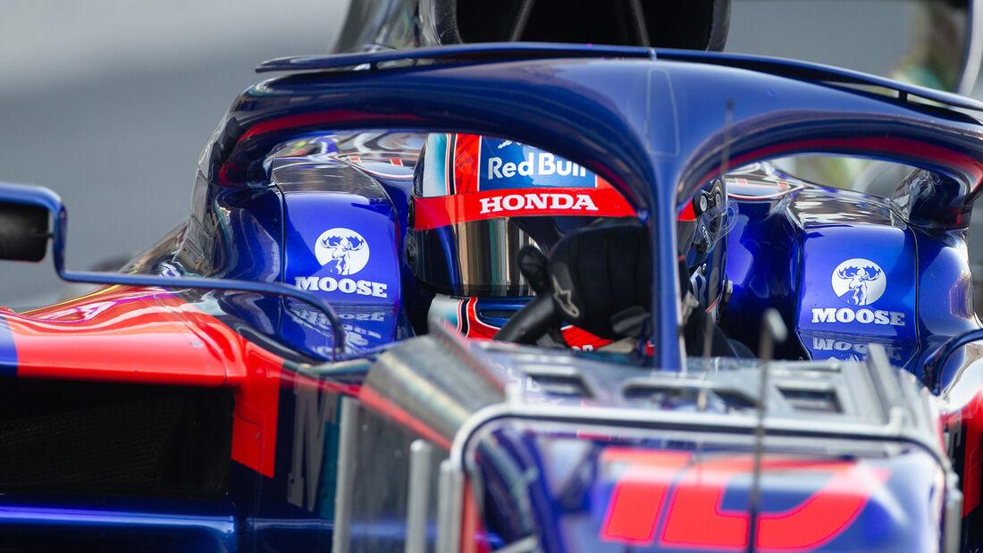 Pierre Gasly - Toro Rosso - F1-Test - Abu Dhabi - 4. Dezember 2019