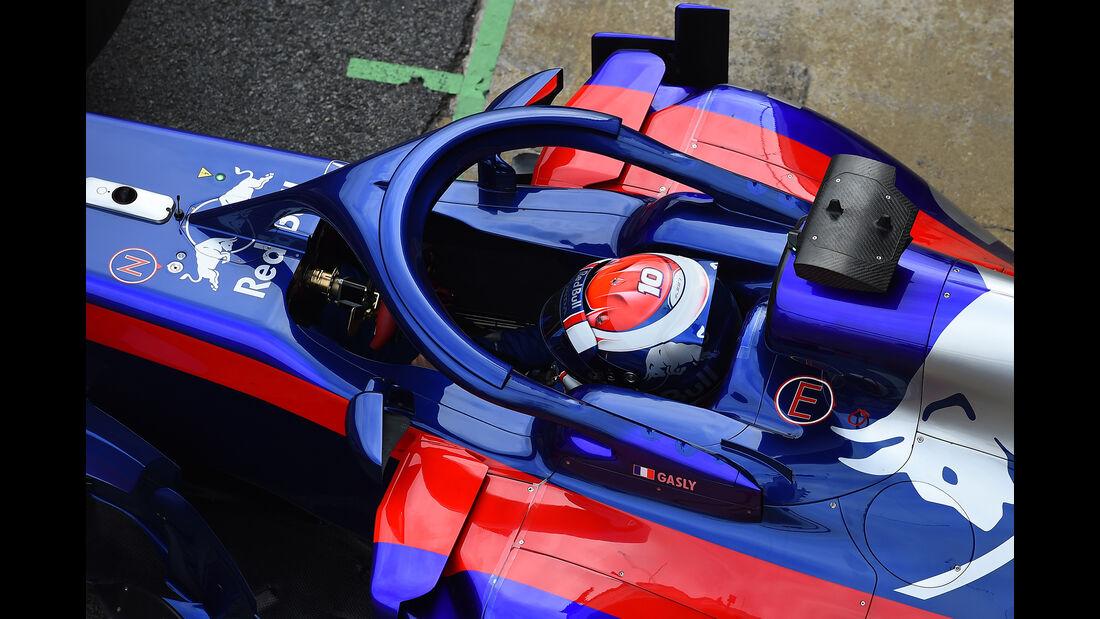 Pierre Gasly - Toro Rosso - F1-Test - Barcelona - Tag 2 - 27. Februar 2018