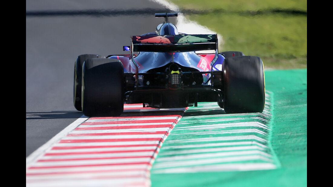 Pierre Gasly - Toro Rosso - F1-Test - Barcelona - Tag 5 - 6. März 2018