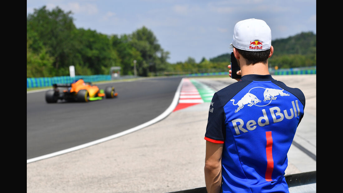 Pierre Gasly - Toro Rosso - F1-Test - Budapest - 1. August 2018