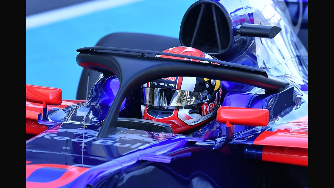 Pierre Gasly - Toro Rosso - Formel 1 - Abu Dhabi - Test 2 - 29. November 2017