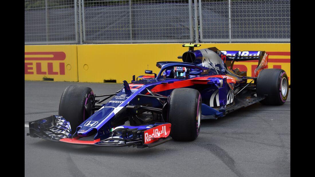 Pierre Gasly - Toro Rosso - Formel 1 - GP Aserbaidschan - 28. April 2018