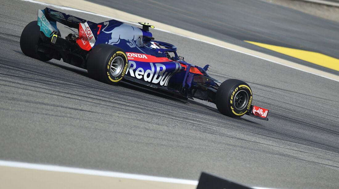 Pierre Gasly - Toro Rosso - Formel 1 - GP Bahrain - Training - 6. April 2018