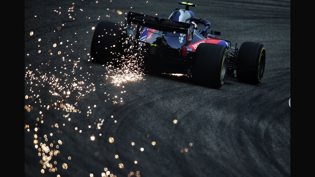 Pierre Gasly - Toro Rosso - Formel 1 - GP China - Shanghai - 14. April 2018